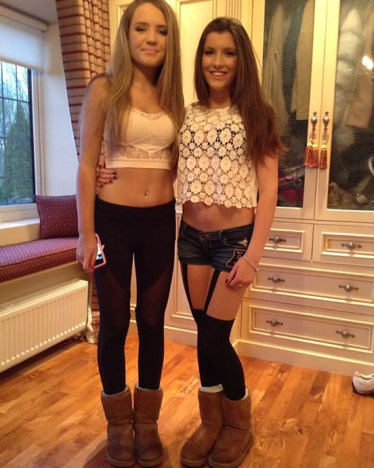 College girls nude in ugg boots