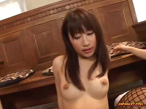 Licking nipples of a girl during sex