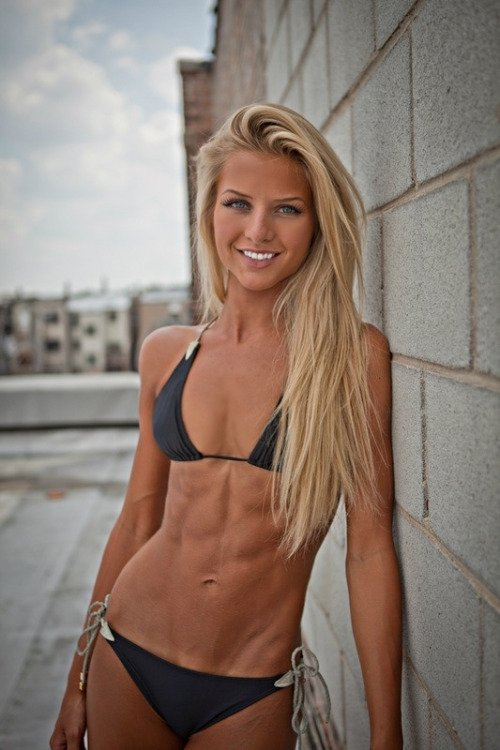 Girls with hard abs