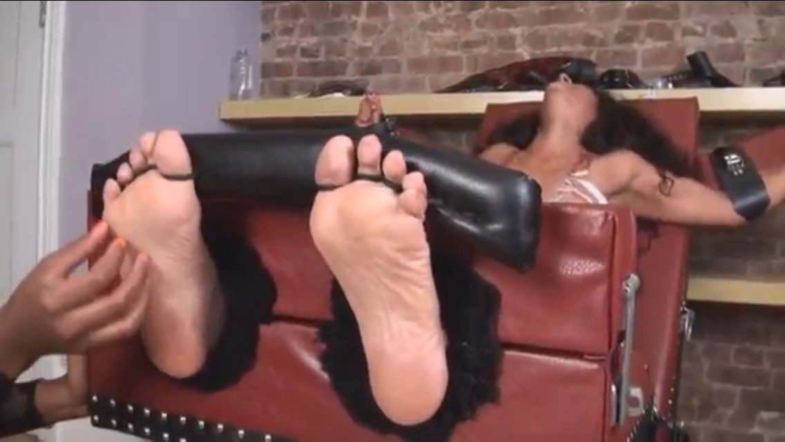 Sexy girls getting tickled